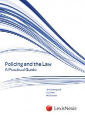 Policing and the Law: A Practical Guide cover
