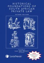 The Historical Foundations of South African Private Law cover