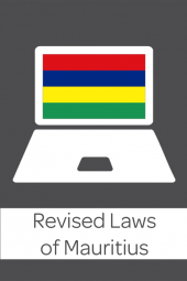 Revised Laws of Mauritius cover
