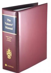 VALUERS MANUAL cover