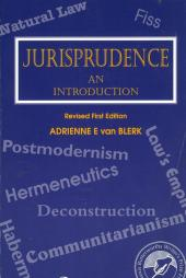 Jurisprudence – An Introduction — Revised cover
