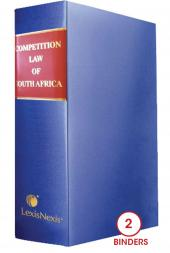 Competition Law of South Africa cover
