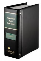 Value-Added Tax in South Africa (Legislation) cover