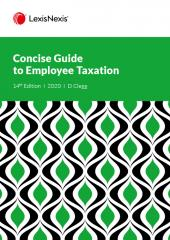 LexisNexis Concise Guide to Employee Taxation 2017 cover