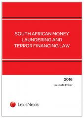 South African Money Laundering and Terror Financing Law 2016 cover