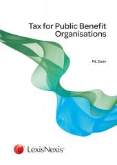 Tax for Public Benefit Organisations cover