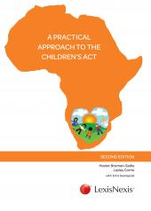 A  Practical Approach  to the  Children's Act cover