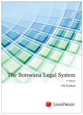 The Botswana Legal System cover