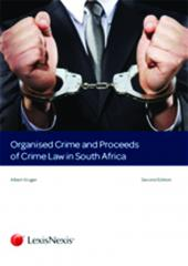 Organised Crime and Proceeds of Crime Law in SA cover