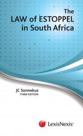 Law of Estoppel in South Africa 3rd edition cover