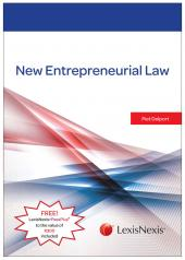New Entrepreneurial Law cover