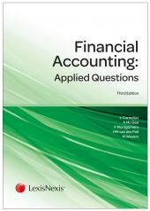 Financial Accounting: Applied Questions 3rd edition cover