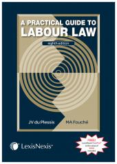 A Practical Guide to Labour Law 8th edition cover