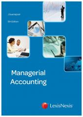 Managerial Accounting 5th edition cover