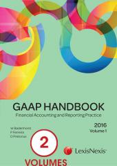 GAAP Handbook 2016 Volumes 1 and 2 cover