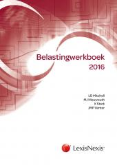 Belastingwerkboek 2017 cover