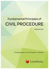 Fundamental Principles of Civil Procedure cover