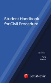 Student Handbook for Civil Procedure 7th edition cover