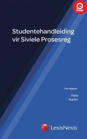Studente Handleiding vir Siviele Prosesreg 7de uitgawe cover