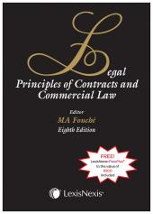 Legal Principles of Contract and Commercial Law 8th Edition cover