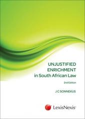 Unjustified Enrichment in South African Law cover