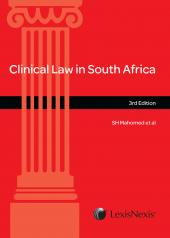 Clinical Law in South Africa cover
