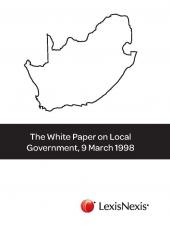 The White Paper on Local Government, 9 March 1998 cover