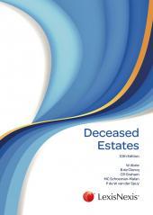 Deceased Estates 10th edition cover