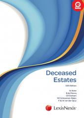 Deceased Estates 10th edition cover