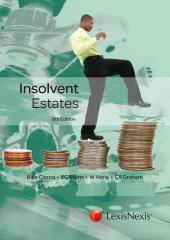 Insolvent Estates 8th edition cover