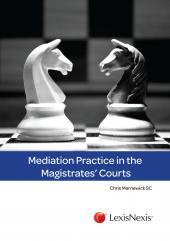 Mediation Practice in the Magistrates Courts cover