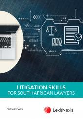 Litigation Skills for South African Lawyers 4th Edition cover