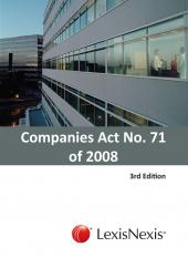 Companies Act No. 71 of 2008 cover