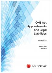 OHS Appointments & Legal Liabilities cover