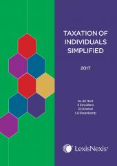 Taxation of Individuals Simplified 2017 cover