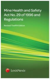 BHOSS MINE HEALTH & SAFETY ACT cover
