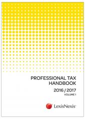 Professional Tax Handbook 2016/2017 cover