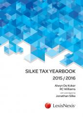 Silke Tax Yearbook 2015/2016 cover