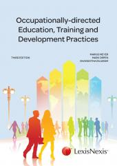 Occupationally-directed Education, Training and Development Practice 3rd edition cover