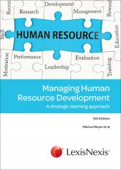 MANAGING HUMAN RESOURCE DEVELO cover