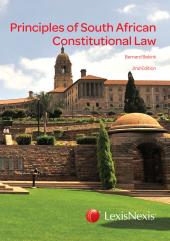 PRINCIPLES SA CONSTITUTIONAL L cover