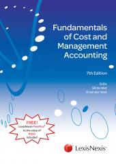 Fundamentals of Cost and Management Accounting 7th edition cover