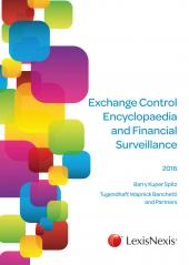 Exchange Control Encyclopaedia and Financial Surveillance 2015 cover