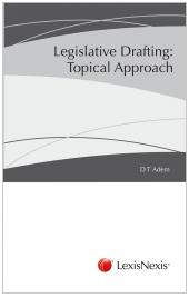 Legislative Drafting A Topical Approach cover