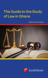 Guide to The Study of Law in Ghana cover