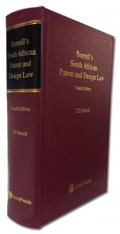 Burrells South African Patent and Design Law cover