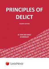 Principles of Delict cover
