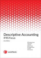 Descriptive Accounting IFRS Focus 21th edition cover
