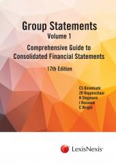 GROUP STATEMENTS V1 17TH EDN cover
