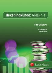 Rekeningkunde Alles-in-1 5uit cover